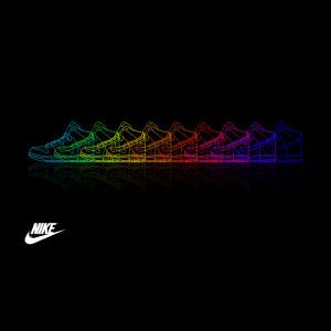 ... background rainbow abstract nike rainbow shoes nike logo wallpaper