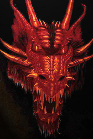 RED DRAGON FACE Image