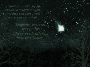New Moon Quote by GenBensGirl