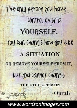 quotes about self control