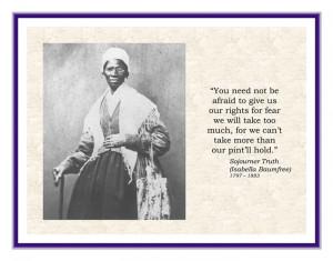 Sojourner Truth (1797-1883)