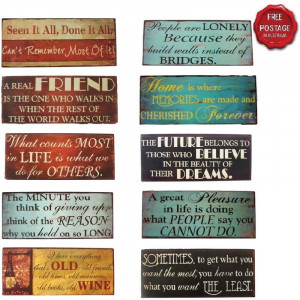 ... -Metal-Tin-Sign-Plaque-Wall-Saying-Quotes-Home-Family-Life-Friends