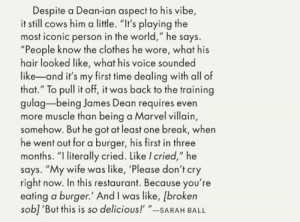 Dane Dehaan for GQ ;; Lmaaoo awwh haha
