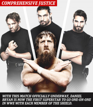 The Shield (WWE) The Shield and Daniel Bryan