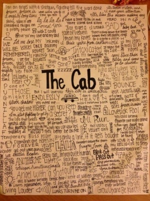 The Cab this is my phone background :)