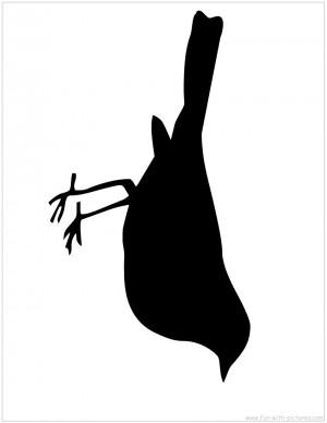 silhouette picture bird silhouette
