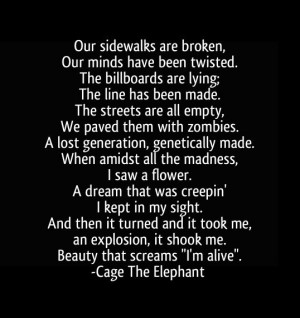 tiny little robots - cage the elephant