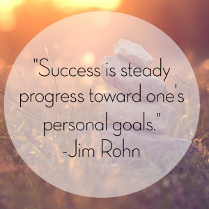 When it comes down to it, goals that are personally tailored are more ...