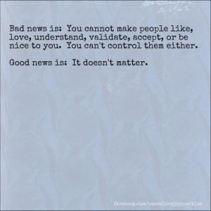 Good news: It doesn't matter.