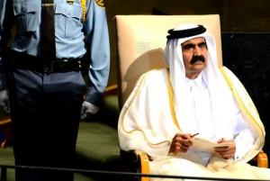 Qatar Emir Sheikh Hamad bin Khalifa Al-Thani. (AFP/Getty Images)