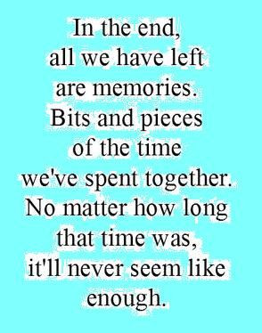 Never enough time.....