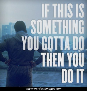 Inspirational Rocky Quotes