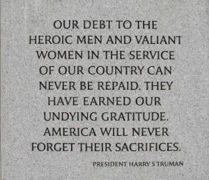 Thread: Veteran's Day - Thank You Should be EVERY DAY