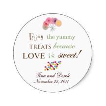 Wedding Favor Sayings on Bridal Shower Favor Stickers Bridal Shower ...