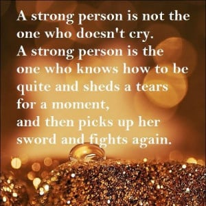 October Quotes And Sayings Quotes and sayings: a strong
