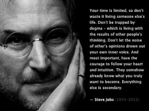 Everyone needs to listen to Steve Jobs' commencement speech he gave at ...