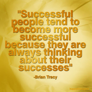 Successful people tend to become more successful because they are ...