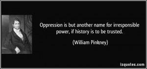 Quotes About Oppression Of People