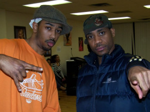 Me Amp Todd Sams(Usher's Choreographer) Picture