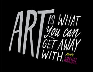 Andy Warhol Quotes Art