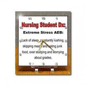 EvaDane Funny Quotes Nursing Student Extreme stress AEB Nursing