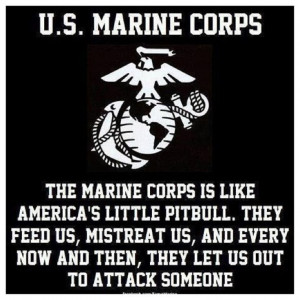 Marines always get compared to Bulldogs, Pit Bulls, Rottweilers, and ...