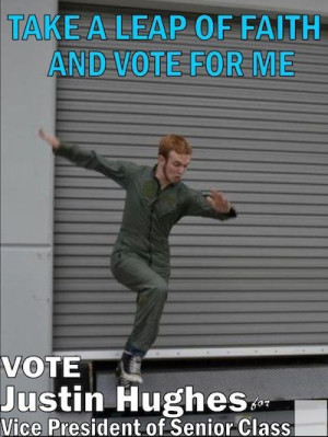 Funny Campaign Posters High School  