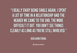 Quotes About Being Single Again