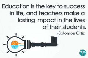 ... impact in the lives of their students