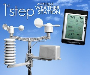 description this weather station from urban green energy detects wind
