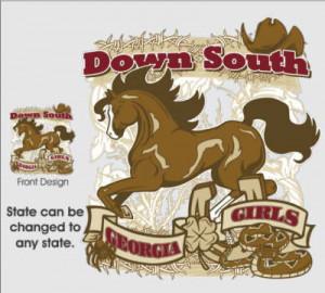 DOWN SOUTH GEORGIA GIRL