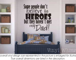 ... My Dad - Vinyl Wall Art - Quote - Vinyl Lettering - Decal - VRDF046