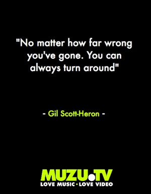 and soul-evangelist Gil Scott-Heron (Lyrics by SMOG) #music #quote ...