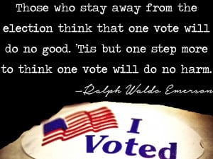 Inspiring quotes about voting for Election Day