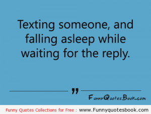 Texting someone and Falling Asleep 11