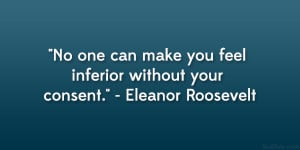Eleanor Roosevelt Quote...