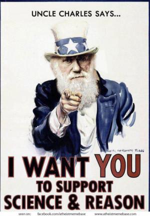 atheism USA atheist science reason darwin charles darwin