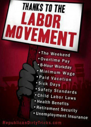 Labor movements + the people who gave their lives for workers' rights ...