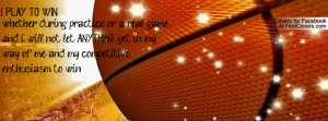 love basketball Facebook Cover - Cover #