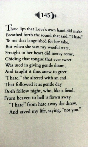 sonnet belongs to Shakespeare, some argue that it was written for Anne ...