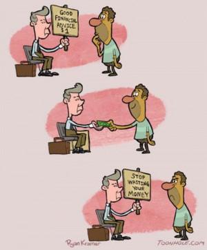 funny financial advice comic