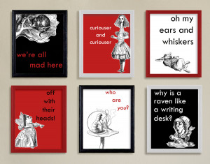 Alice in Wonderland Quotes Research
