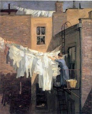 ... Sloan, Work 1912, Art, Woman Work, John French, Ashcan Schools, John