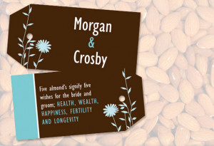 personalized gift favor tag