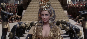 Photo of Elizabeth Taylor as Cleopatra , from