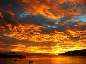 Sabah Sunset - Travel photo of the week