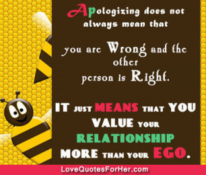 Sorry Quotes and Sayings for her & him
