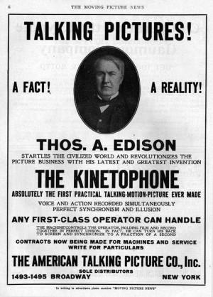Thomas Edison Kinetoscope