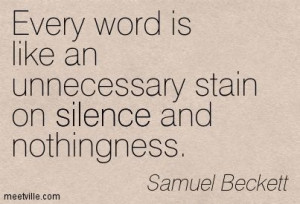 Quotes of Samuel Beckett