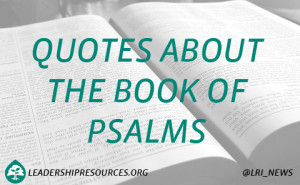 ... 25 Inspirational Quotes about the Book of Psalms | Psalms Quotes